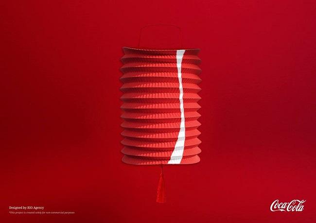 Ngắm hình ảnh thương hiệu nổi tiếng qua chiếc lồng đèn