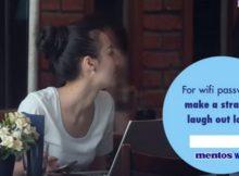 Chiến dịch kết nối người trước khi kết nối wifi độc đáo của Mentos