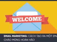 Những điều cần có trong mỗi Email chào đón khách hàng
