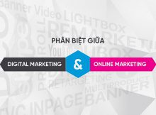 Digital Marketing Và Online Marketing là một hay hai?