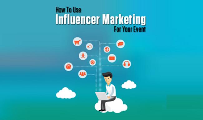Khi ứng dụng Influencer Marketing vào Marketing sự kiện